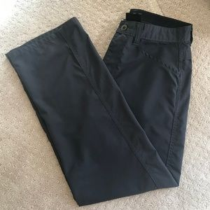 Hurley Charcoal Gray Activewear Pants, Size 29